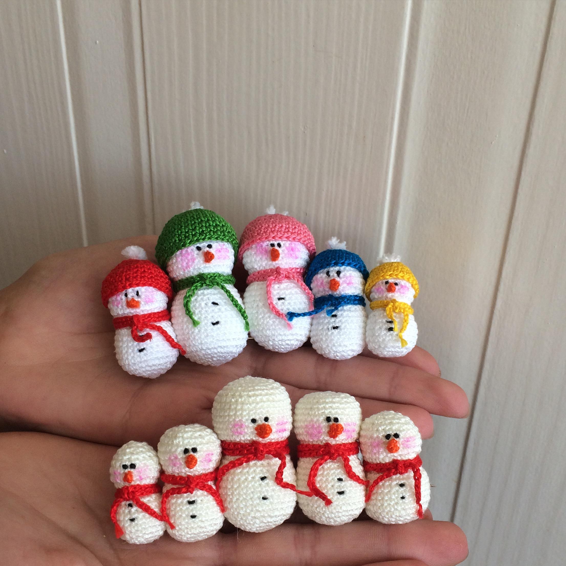 Christmas Ornaments - Snowman - DoubleTrebleTrinketsDoubleTrebleTrinkets