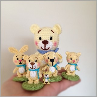 Little Bear and friends