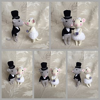 wedding mice